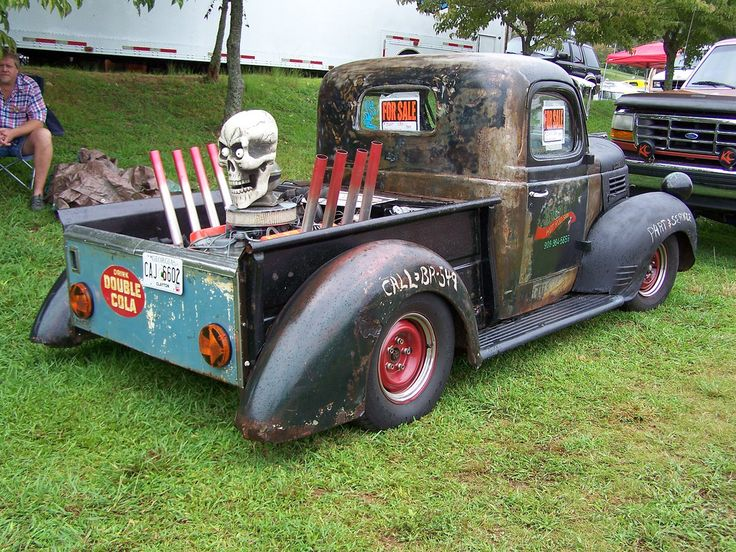 Rat Rod Panel Truck | 1937 DODGE RAT ROD TRUCK (1)