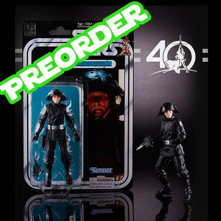 Star Wars 40th Anniversary Death Squad Commander Action Figure