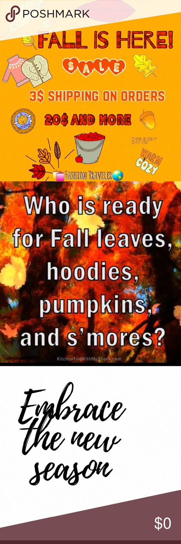 🌰🍁🍂🌻ITS HERE!!! In celebration of my favorite season! Hail autumn 🍂🙌🏽 I want to share my closet on discount. So not only do I live in the most beautiful area 🙌🏽*New England*! Autumn is a ritual of  🍎 🎃 picking but we love our PSL. And we have some of the greatest BASIC BETCH gear. So check out my digs. I shop all vintage Brooklyn. Exclusive NYC and Boutique Greenwich. Everything I share is in excellent condition. And very reasonably priced. So share on & Bundle. *!Bring out ur New…
