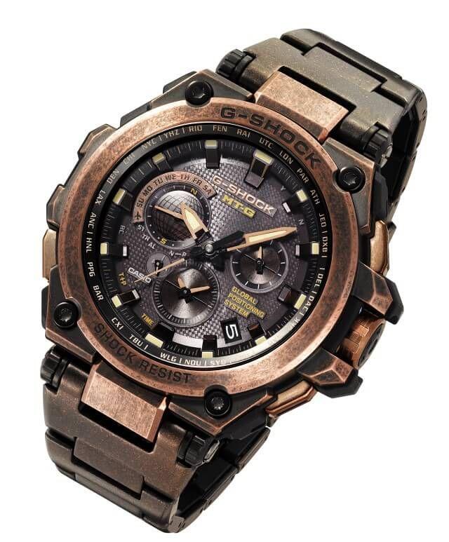 G-Shock MTG-G1000AR Sunken Treasure Rose Gold Aged IP