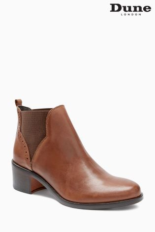 Dune Parenell Tan Chelsea Boot