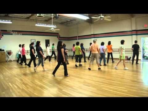 Come Dance With Me Line Dance (Demo & Walk Through) - YouTube