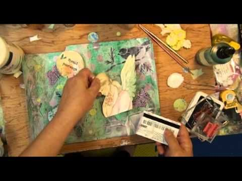 Art Journal Techniques GREAT video