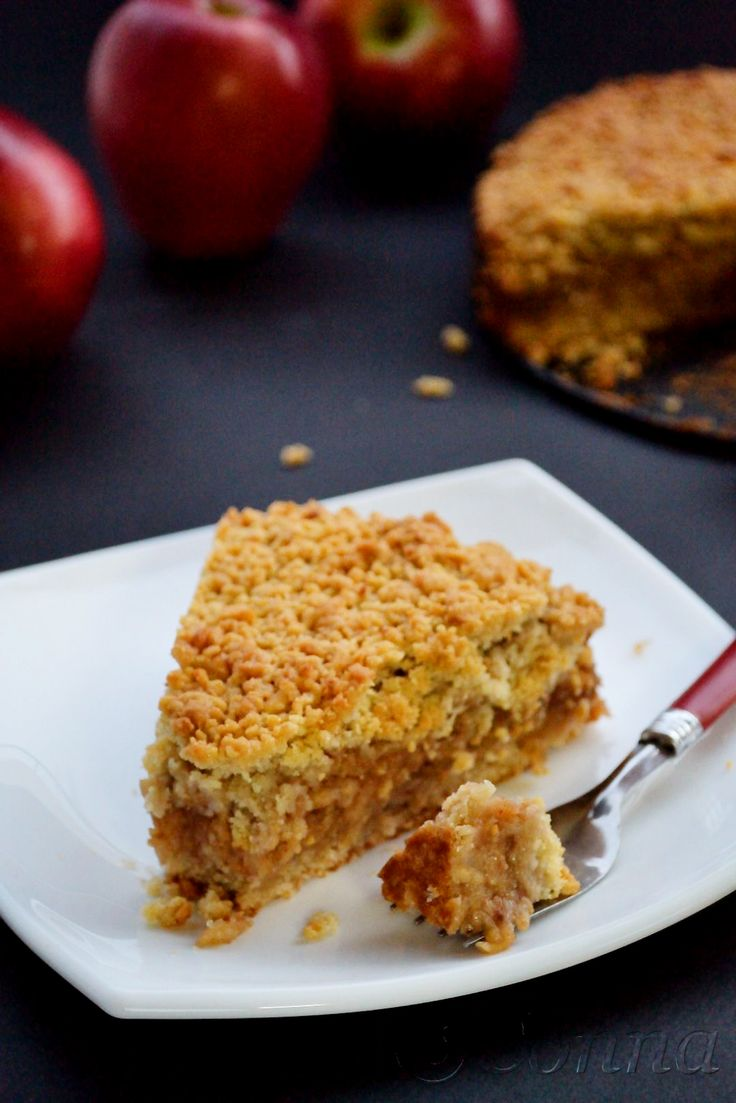 Sabor: Μηλόπιτα / Apple crumble pie
