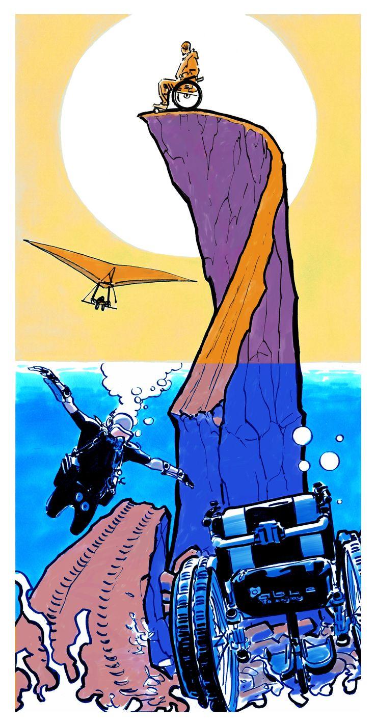 """Per il progetto VIAGGIO ITALIA - www.viaggioitalia.it e https://www.facebook.com/viaggioxitalia - Land cura la comunicazione e le fasi di progettazione. Abbiamo deciso di chiedere all'amico Bruno Brindisi (disegnatore di Dylan Dog) un """"contributo incontro"""" e lui ci ha donato questo disegno. Grazie Bruno !!"""