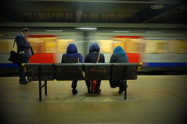 Waiting... #underground #tube #london #waiting #photography #fujifilm