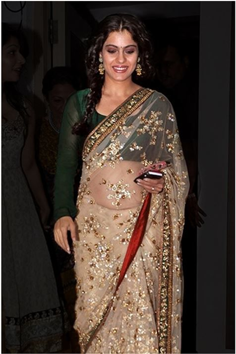 Kajol Bollywood Replica Saree