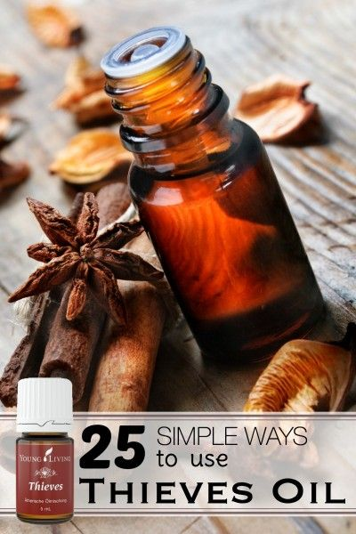 25 Simple Ways to Use Thieves Essential Oil | Tipsaholic