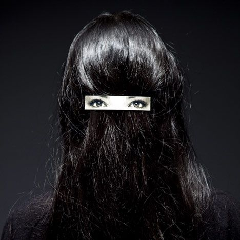 Hair Clip on Hair by Humans Since 1982    i have another eyes on back.