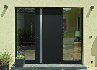 Neue Design-Griffe für Aluminium-Haustüren