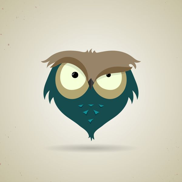 The owls are not what they seem by Andrey Bzh, via Behance #illustration #owl