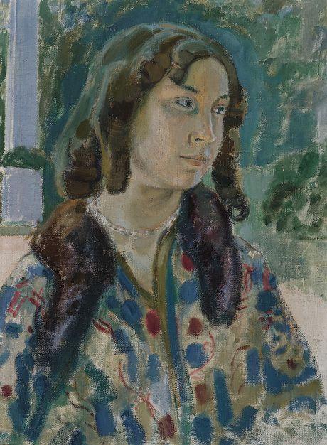 Борисов-Мусатов Виктор Эльпидифорович  (1870 - 1905) С.  К.  Steblovayi портрет