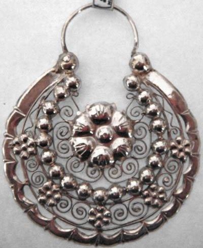 Arracadas Jerezanas de Plata | Earrings - Organic Amber ...
