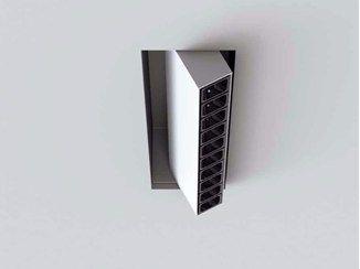 Projetor LED ajustável embutido de alumínio extrudado LEVA   Projetor embutido - LUCIFERO'S