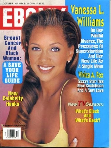 Vanessa Williams covers Ebony Magazine (October, 1997)