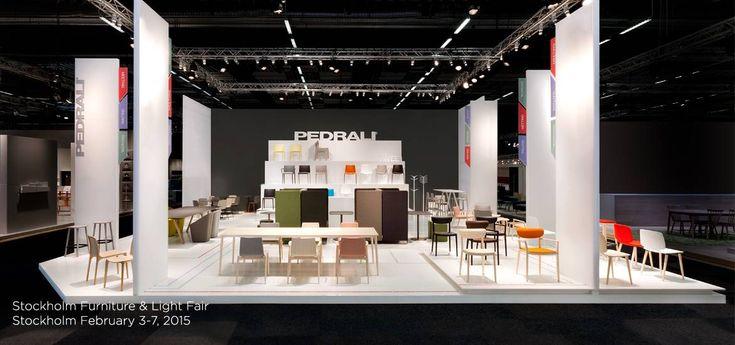 Pedrali Spa - Stockholm Furniture & Light Fair 2015 - Krea realizzazione e allestimento stand