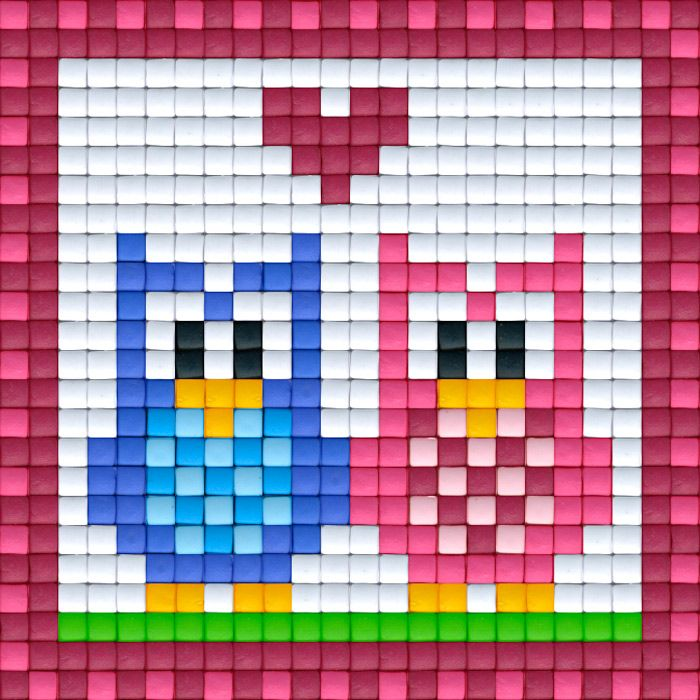Uiltjes roze | Pixel Party