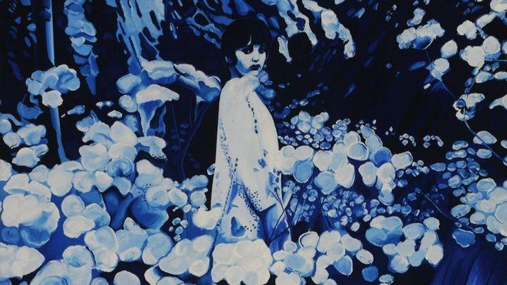 Velvet Jungle n°1 d'après Jacques Monory/Tapisserie des Gobelins, 2012.