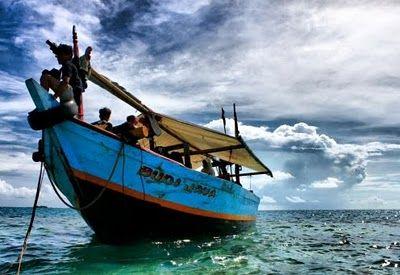 Kapal Pak Darji, Salah satu kapal sewaan menuju #PulauBiawak.