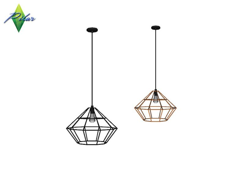 Mix of styles, current furniture, a vintage note and an exotic touch  Found in TSR Category 'Sims 4 Ceiling Lamps'