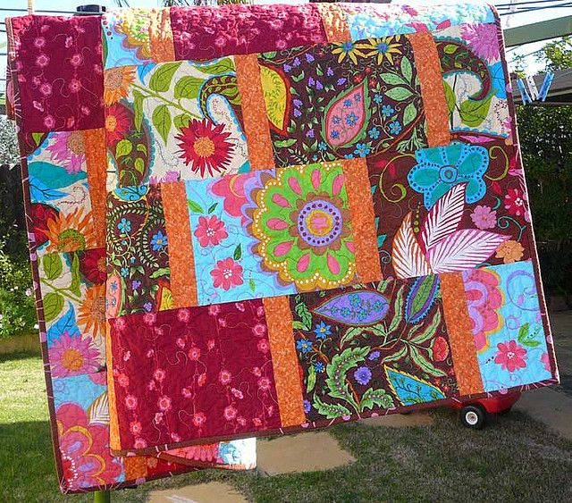 1000 images about large block quilts on pinterest get started amy butler and robert kaufman. Black Bedroom Furniture Sets. Home Design Ideas