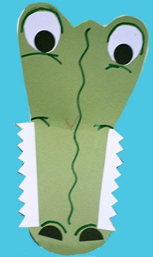 masque de crocrodile  (http://www.teteamodeler.com/activite/masque/masque-crocodile-suite.asp)