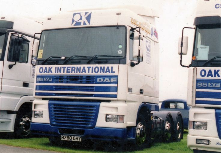 https://flic.kr/p/A93uUC | Oak International Transport, Avonmouth | DAF 95XF R780 OHY  Oak International Freight Limited was established in January 1997 and is now one of the foremost Freight Forwarding companies in the West of England.