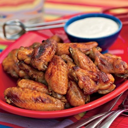 Red Hot & Blue WingsBlue Cheese, Red Curries, Cheese Dips, Fourth Of July, 4Th Of July, July 4Th, Red Currant, Blue Wings, Chicken Wings