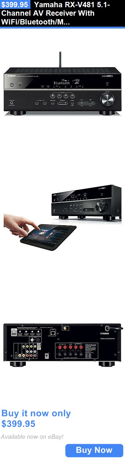Home Theater Receivers: Yamaha Rx-V481 5.1-Channel Av Receiver With Wifi/Bluetooth/Musiccast BUY IT NOW ONLY: $399.95