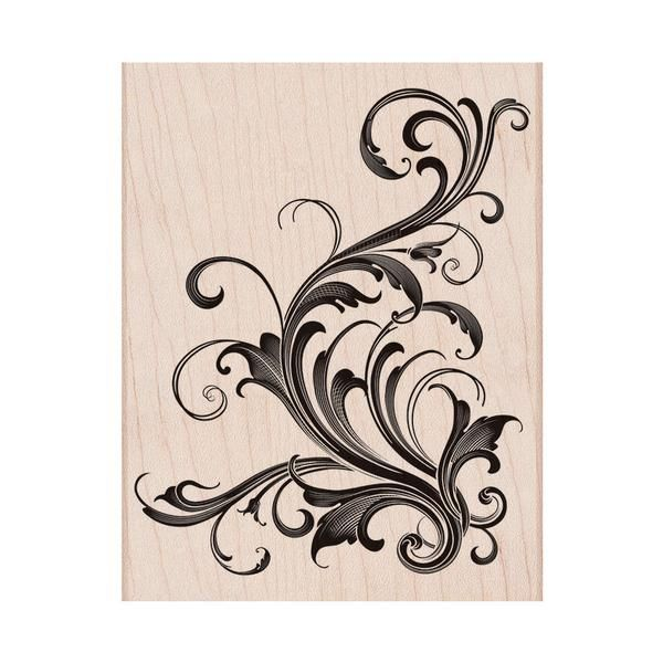 S5449 Fabulous Flourish - Hero Arts - 13,- $
