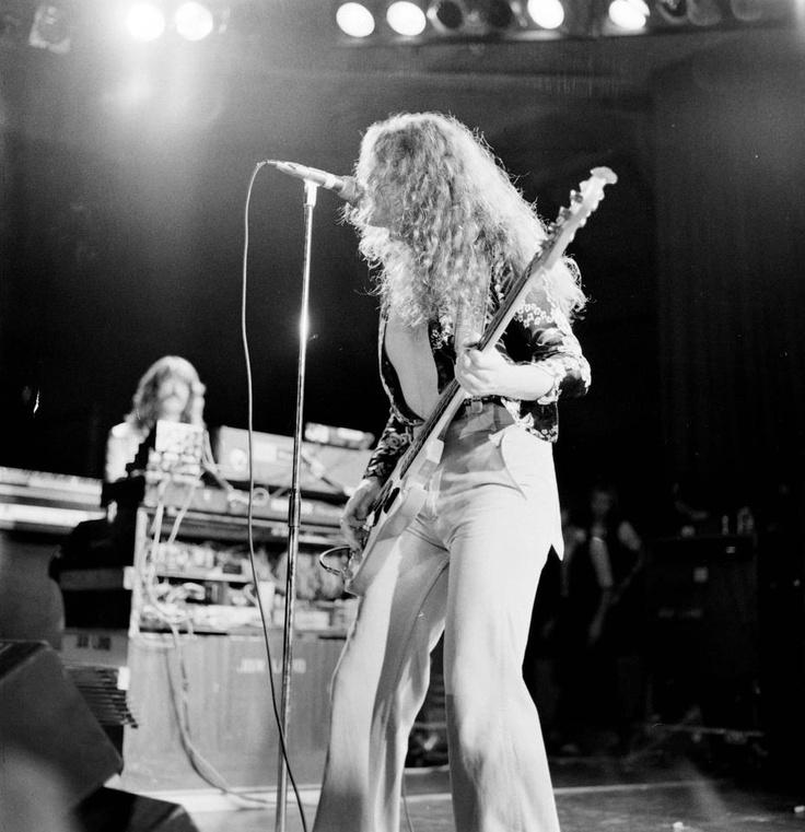 Gettin' Tighter.   Glenn Hughes and John Lord of Deep Purple :)