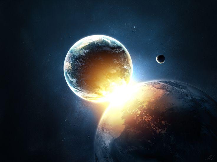 Potvrzeno: Zemi ve skutečnosti tvoří dvě planety. Spojila je srážka | Nevšední svět