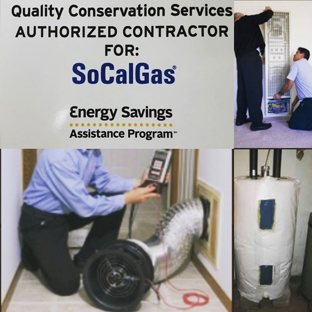 The Southern California Gas Company offers no-cost weatherization and furnace repair or replacement services for qualified limited-income customers. The program is available to both homeowners and renters residing in single and multi-family and mobile homes. QCS is a licensed contractor for SoCalGas.