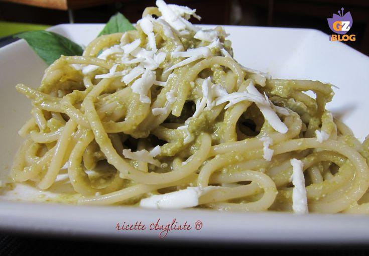 Spaghetti kamut al pesto di fagiolini e feta