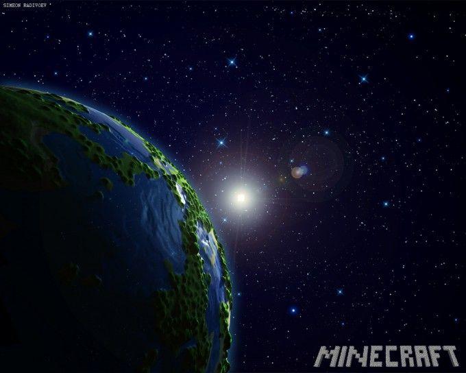 planet minecraft wallpaper