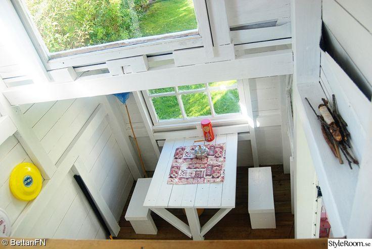 fönster,loft,barnbord,lekstuga,barnpallar