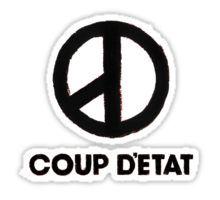 G Dragon Coup Detat Mini Pocket Logo Sticker