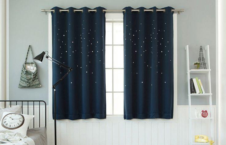 キラキラ☆遮光カーテン(132x170cm)2枚1組 - 北欧風Home Stylingの★JULYSEVENTH★