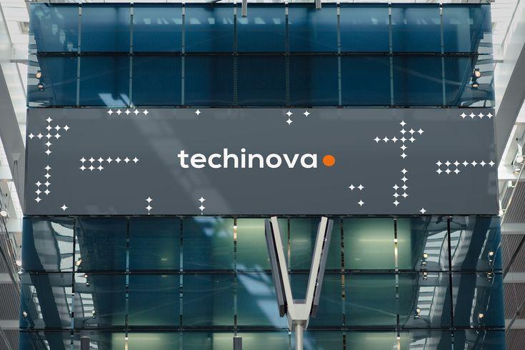 Grafisk profil till Techinova. Logo.