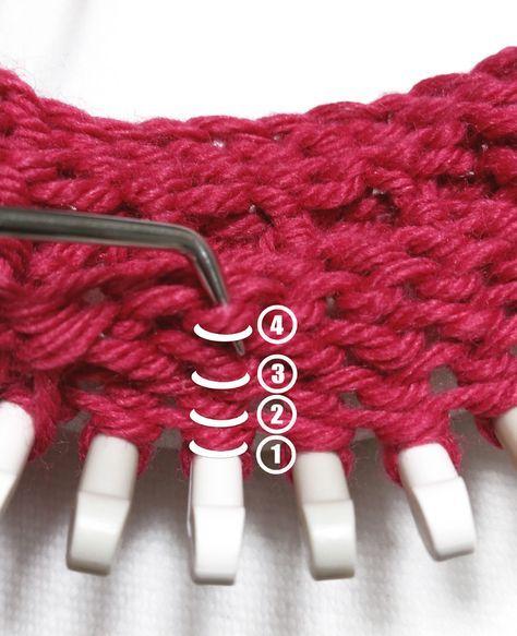 Knitting Inspiration : Besten loom knit inspiration bilder auf pinterest