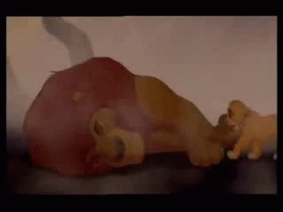 Mufasa's death -- Lion King I cry every time :(