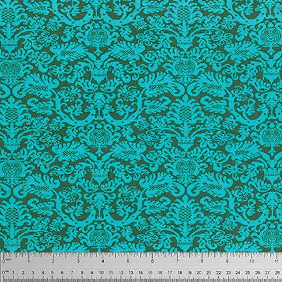 """Amy Butler PWTC033 Fanfare Pine Tonal Blender  Floral True Colors BTHY Half Yd 18"""" Freespirit Quilting Quilt Sew Sewing Fabric by KinshipQuilters on Etsy"""