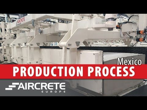 (7) Autoclaved Aerated Concrete (AAC) Production Process - YouTube