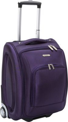 "Travelon 18"" Wheeled Under Seat Bag Purple - via eBags.com!"