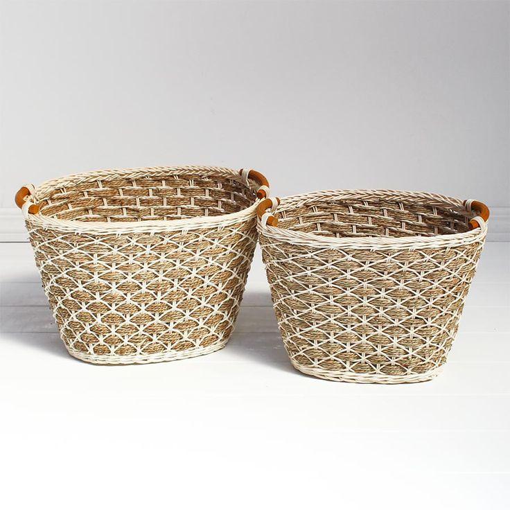 Copenhagen Rattan Basket -2 Sizes