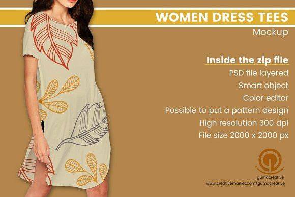 Download Women Dress Tees Mockup Mockup Mockup Free Psd Mockup Psd