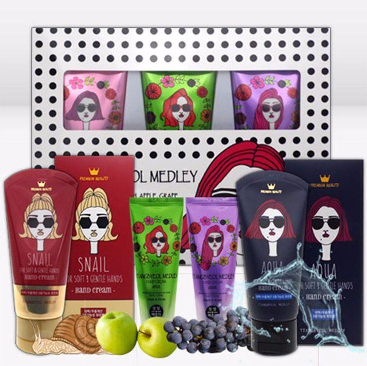Ttangbyeol Medley 4 Kinds of Hand Cream from S.Korea #TtangbyeolMedley