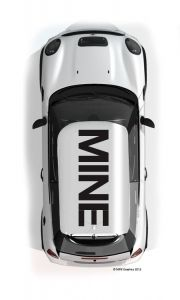 MINI Roof Graphics MINE