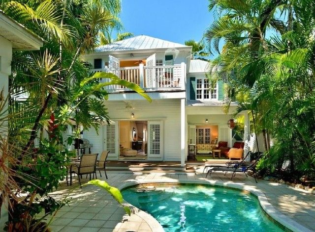 Image Result For Spanish Key West Style Homes Vacation Home Beach Cottage Style Key West House Rentals