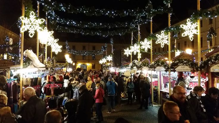 The small Christmas market at Republic Square is my favourite in Prague 1.